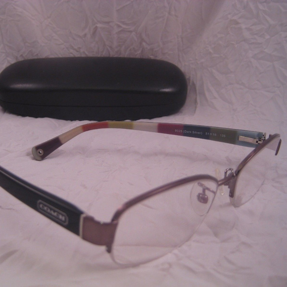 d20d2199f214 Coach Accessories | Rx Eyeglasses Hc5004 Bettie Silver Black | Poshmark